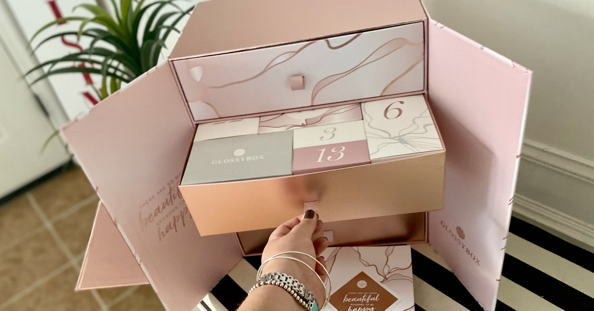Best Beauty Advent Calendar for 2020 - Glossy Box Review