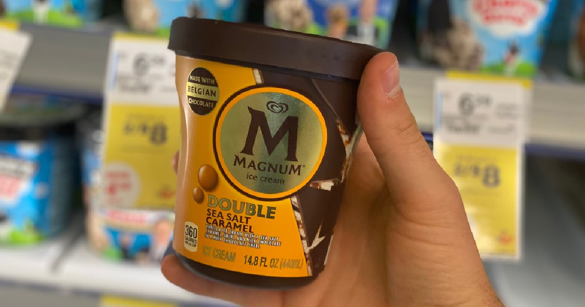 Magnum Ice Cream Pints Only $2.75 Each at Walgreens (Regularly $6)