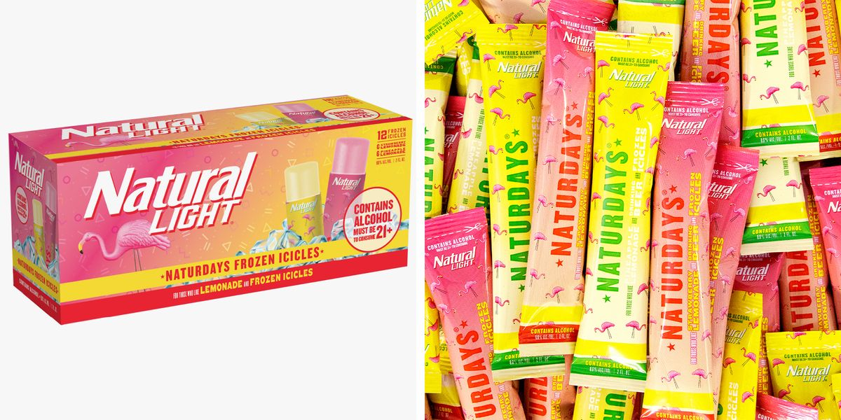 Natty Light Has Turned Its Naturdays Fruity Beers Into Frozen Boozy Ice Pops