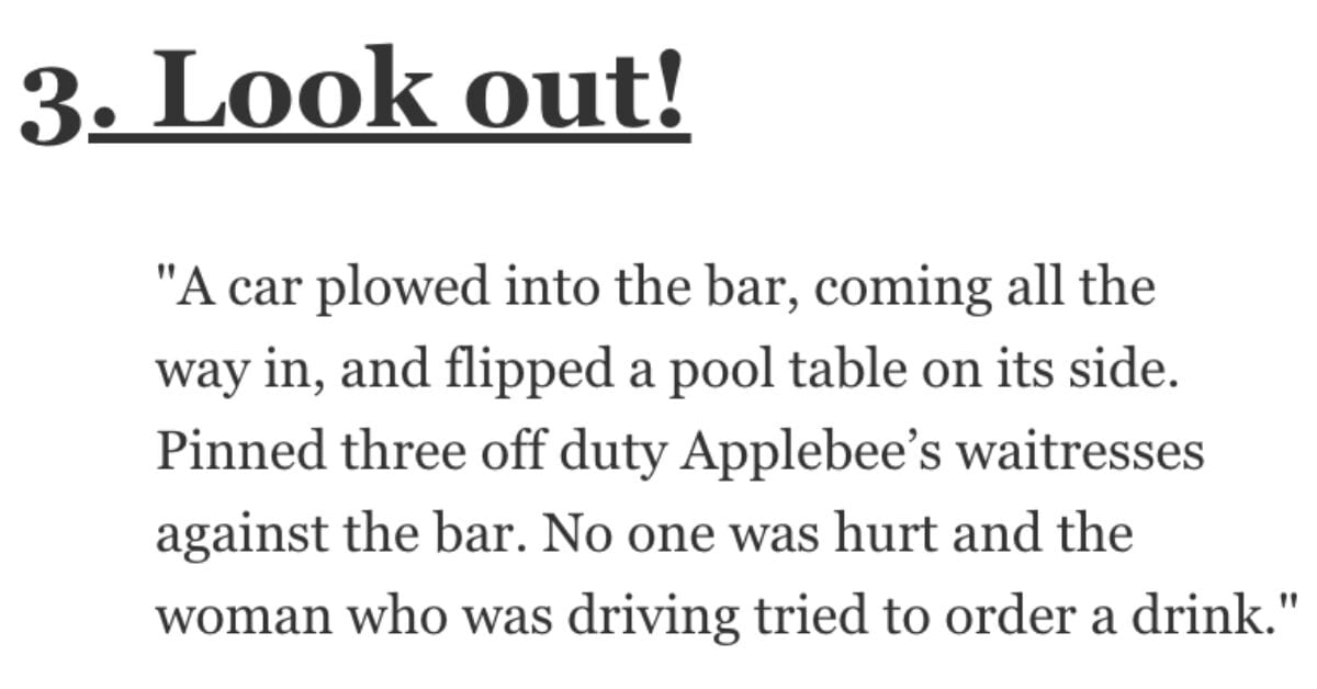 Bartenders, What's the Weirdest Thing You've Seen While Working? Let's Check Out Their Stories.