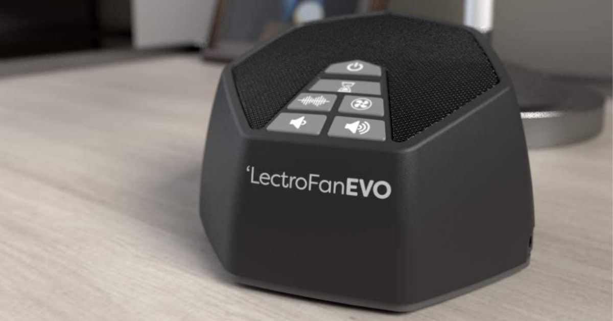 LectroFan Evo White Sound Machine Only $32.92 Shipped on Amazon (Regularly $60)