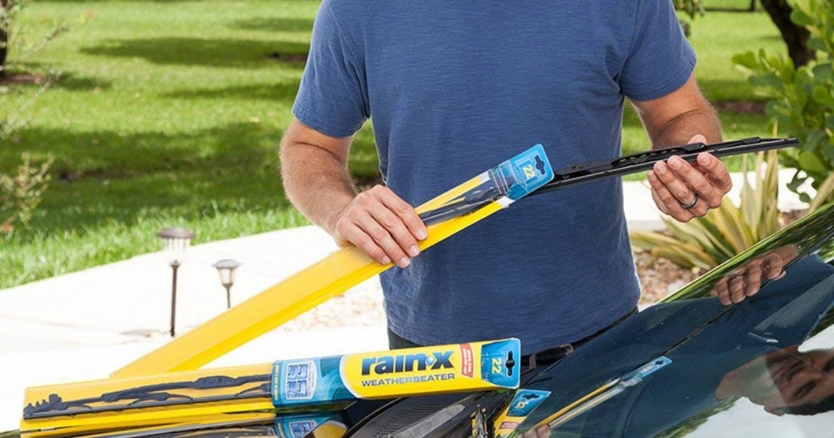 Rain-X Weatherbeater Wiper Blades Only $6.99 on Target.com