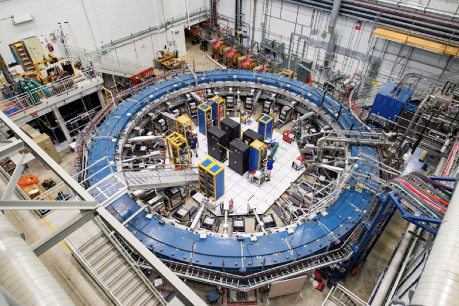 Physicists Announce First Results of Fermilab Muon g-2 Experiment