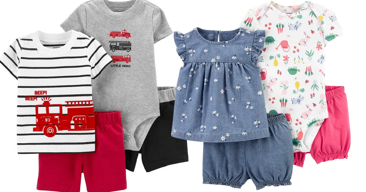10 Carter's Baby Outfits Only $29.95 Shipped on Costco.com