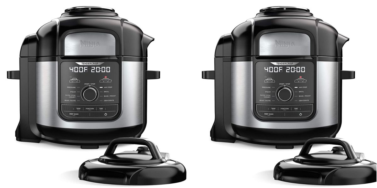 Ninja's Pressure Cooker & Air Fryer Is $100 Dollars Off For Prime Day