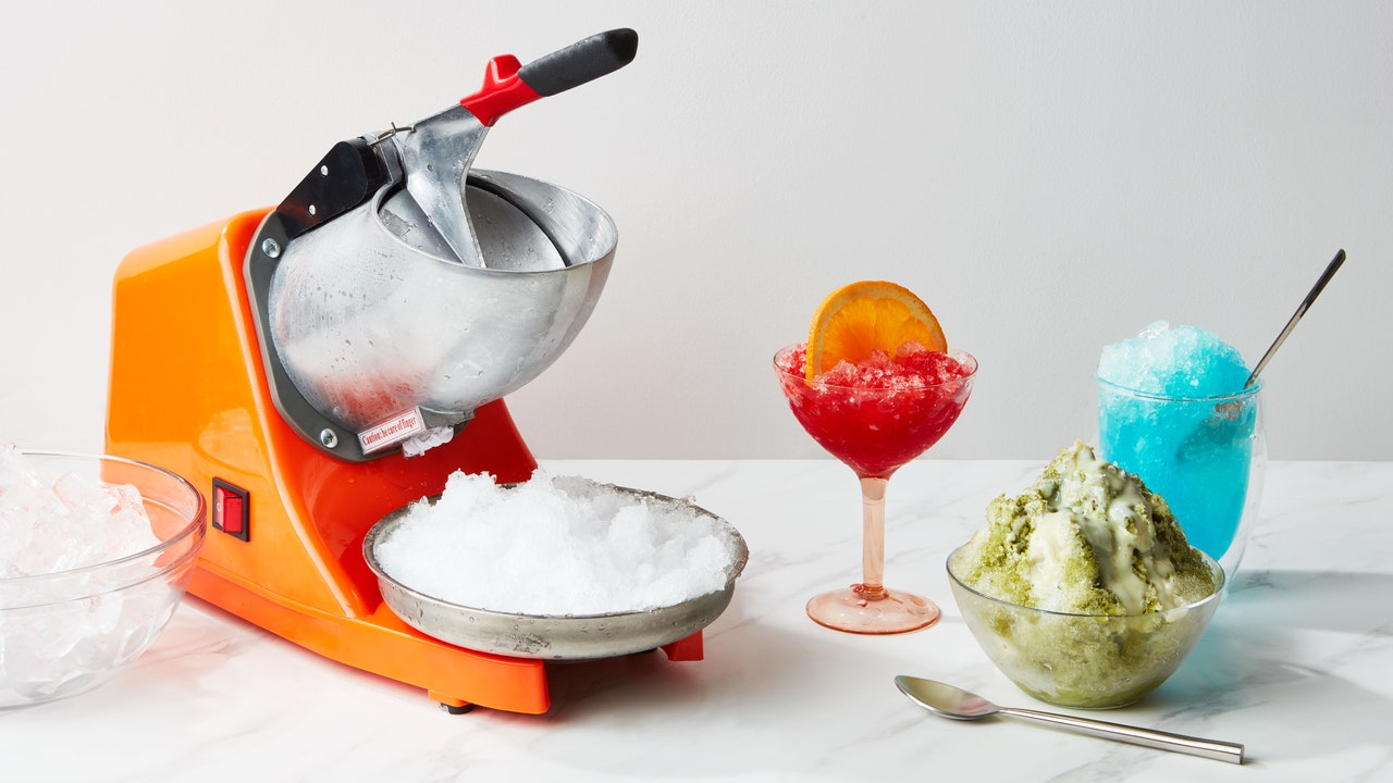 Is This the Summer You Get a Shaved Ice Machine?