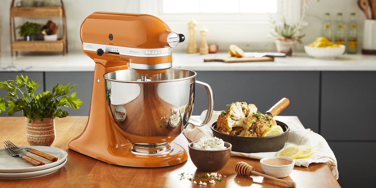KitchenAid's 2021 Color Of The Year Is Honey