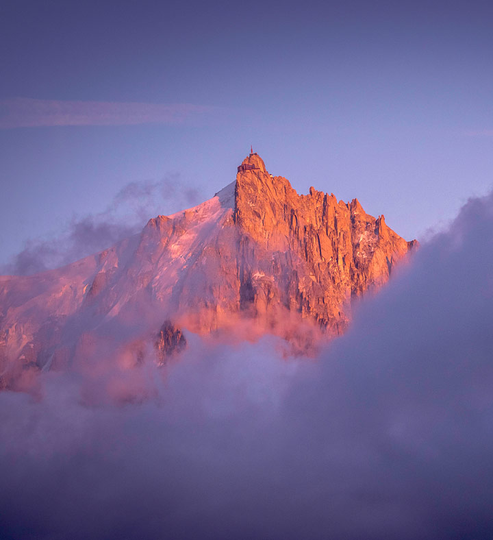 Chamonix Valley, France by Mathieu Rossi