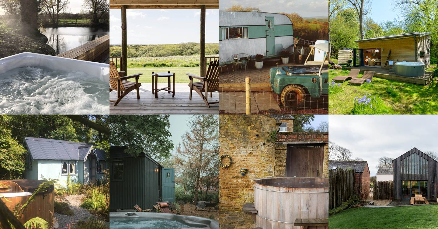 The best Airbnbs with hot tubs in the UK