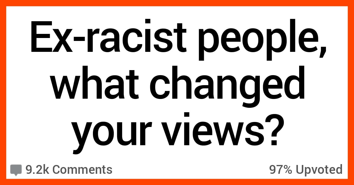 12 Ex-Racists Open up About What Changed Their Views