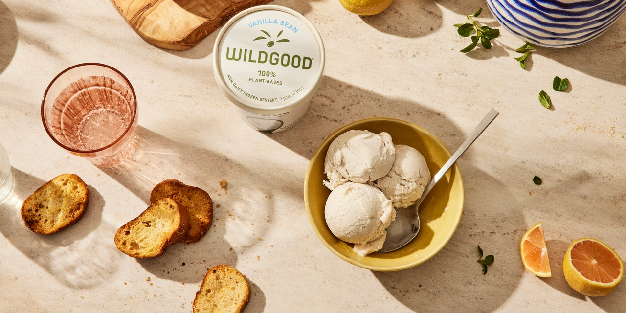 This New Vegan, Gluten-Free, Non-Dairy Ice Cream Is Made With Olive Oil
