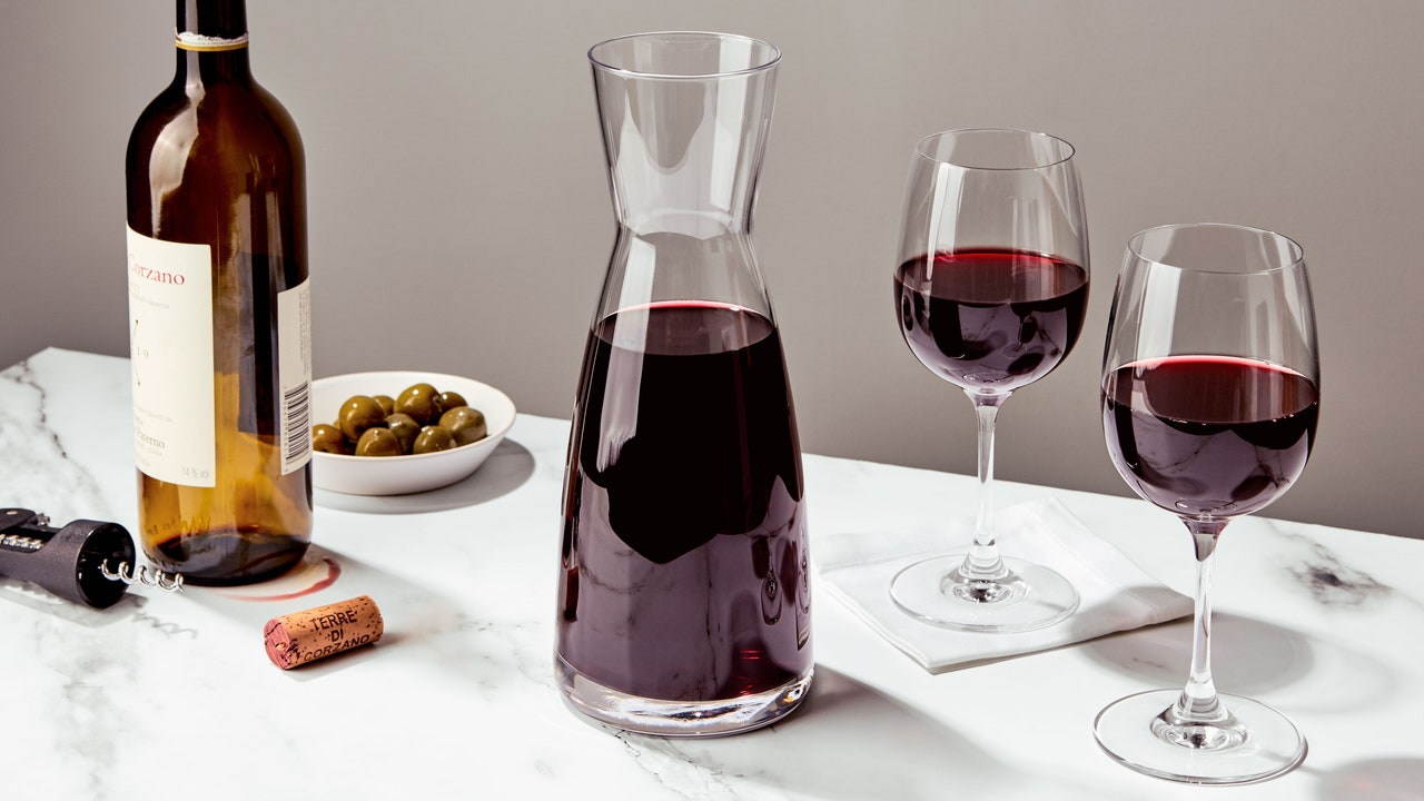 This Sturdy Carafe Replaced My Wine Decanter