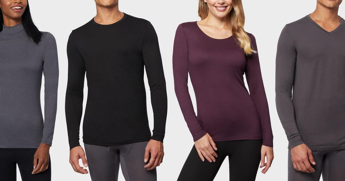 32 Degrees Men's & Women's Base Layers from $6 Each Shipped (Regularly $22)