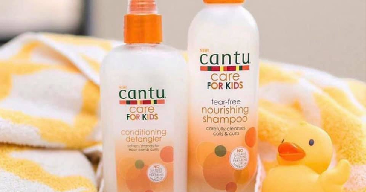 Cantu Care for Kids Hair Products Just $2.74 Shipped on Amazon (Regularly $4)