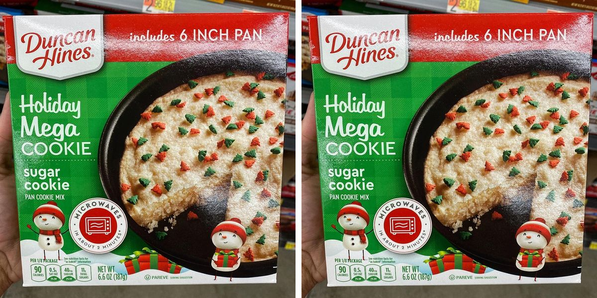 Duncan Hines Has a New Giant Holiday Cookie
