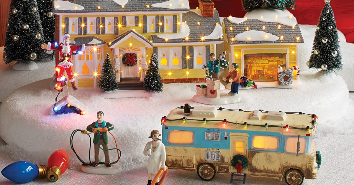Find Everything You Need to Create Your Own Griswold Christmas Village on Amazon