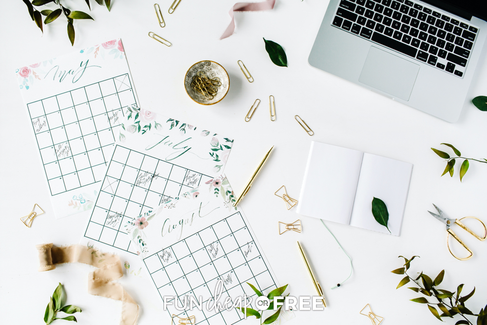 How To Plan Your Year Ahead + FREE Printable