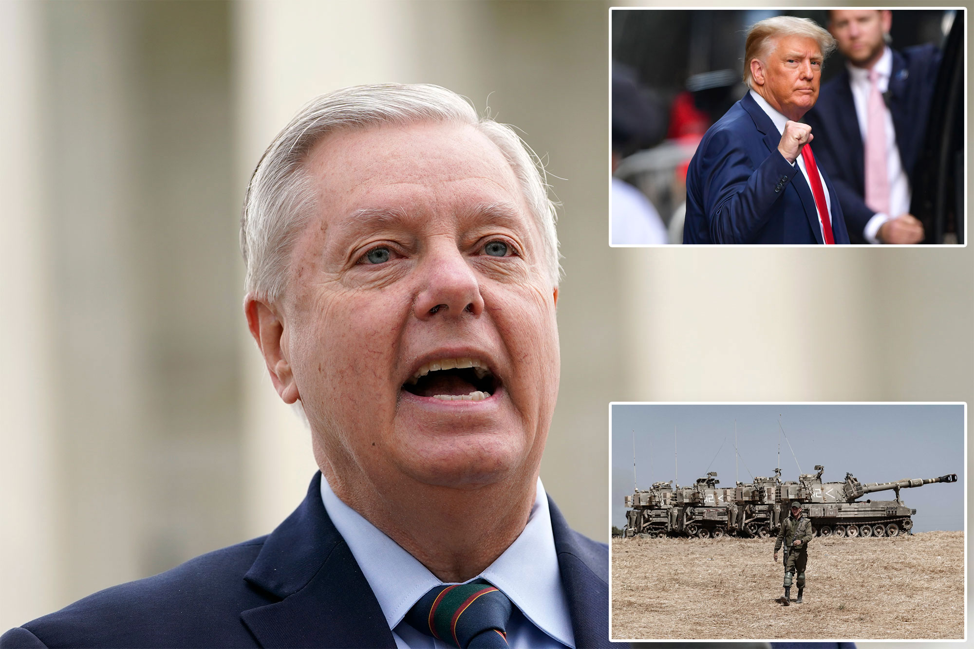 Graham calls for 'draft Trump' movement to kick-start 2024 WH campaign