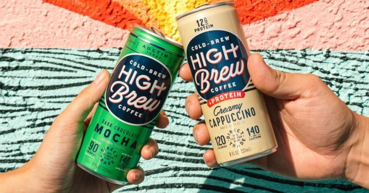 High Brew Coffee Nitro Cold Brew 12-Packs from $18.75 Shipped on Amazon (Just $1.56 Per Can)
