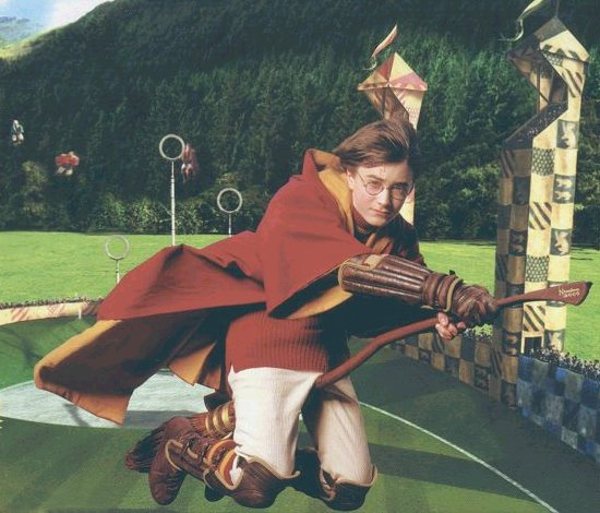 Q: Is there some way to actually play quidditch?