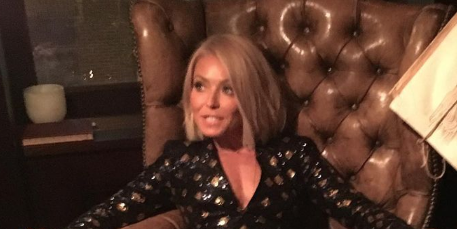 Kelly Ripa Says Goodbye to 2020 on Instagram While Wearing a Gorgeous Mini Dress
