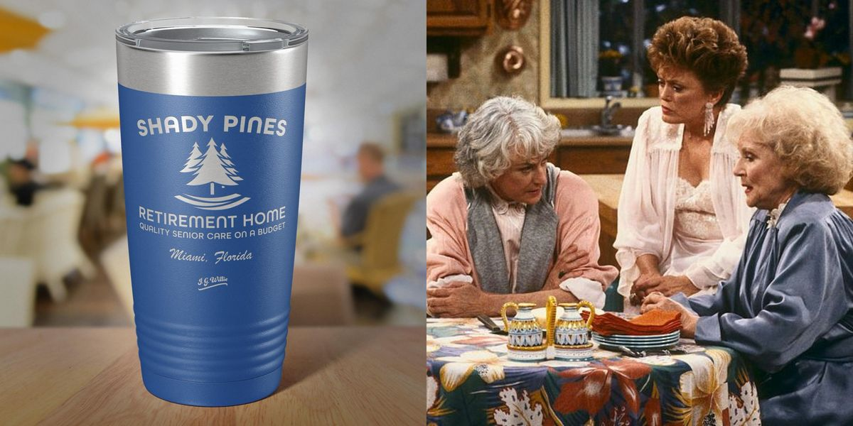 This Golden Girls-Inspired Shady Pines Reusable Mug Is A Perfect Gift