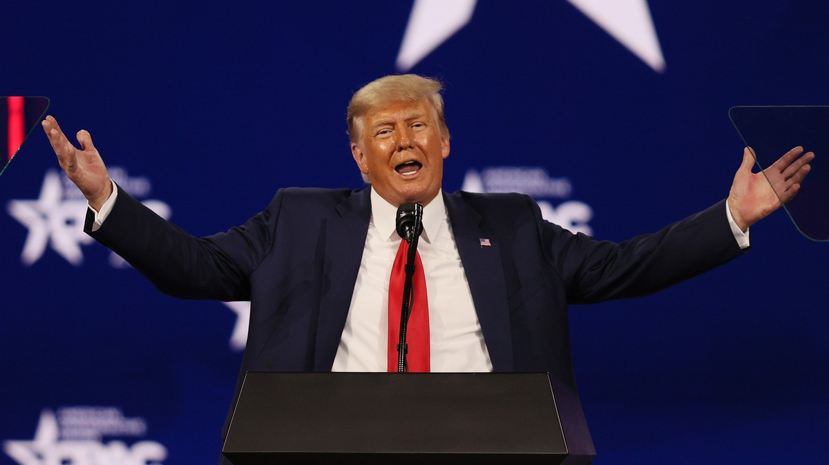 Trump Used His CPAC Speech to Call Out 17 of His Haters by Name