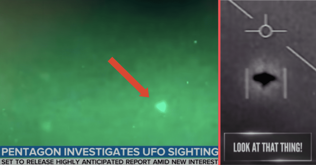 The Department of Defense Is Evaluating UFO Data That Could Be Released to the Public