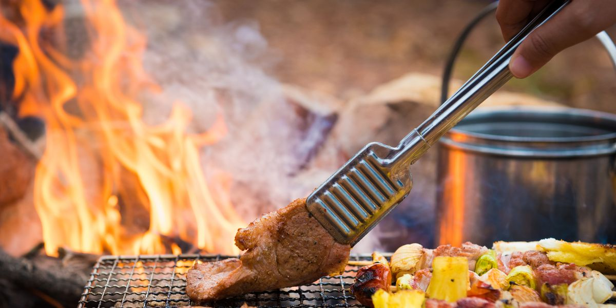 How to Cook Food Over A Campfire