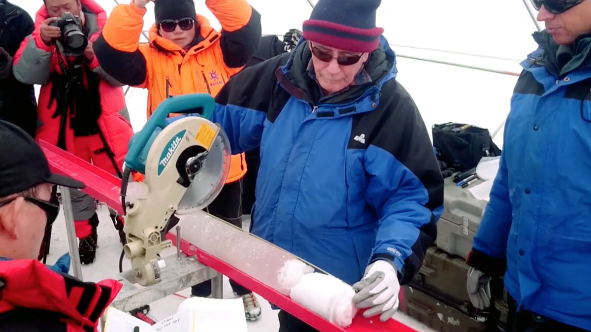 Tibetan Glacial Ice Core May Hold Clues About Climate Change