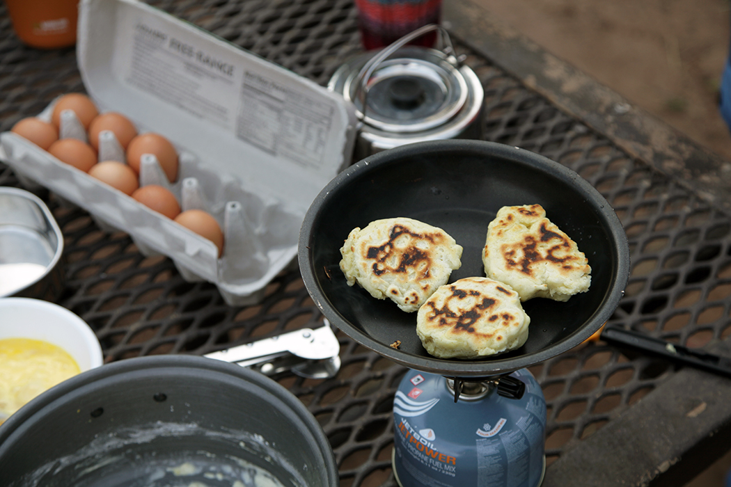 Make Your Campsite Breakfast Better with Freshly Made Biscuits