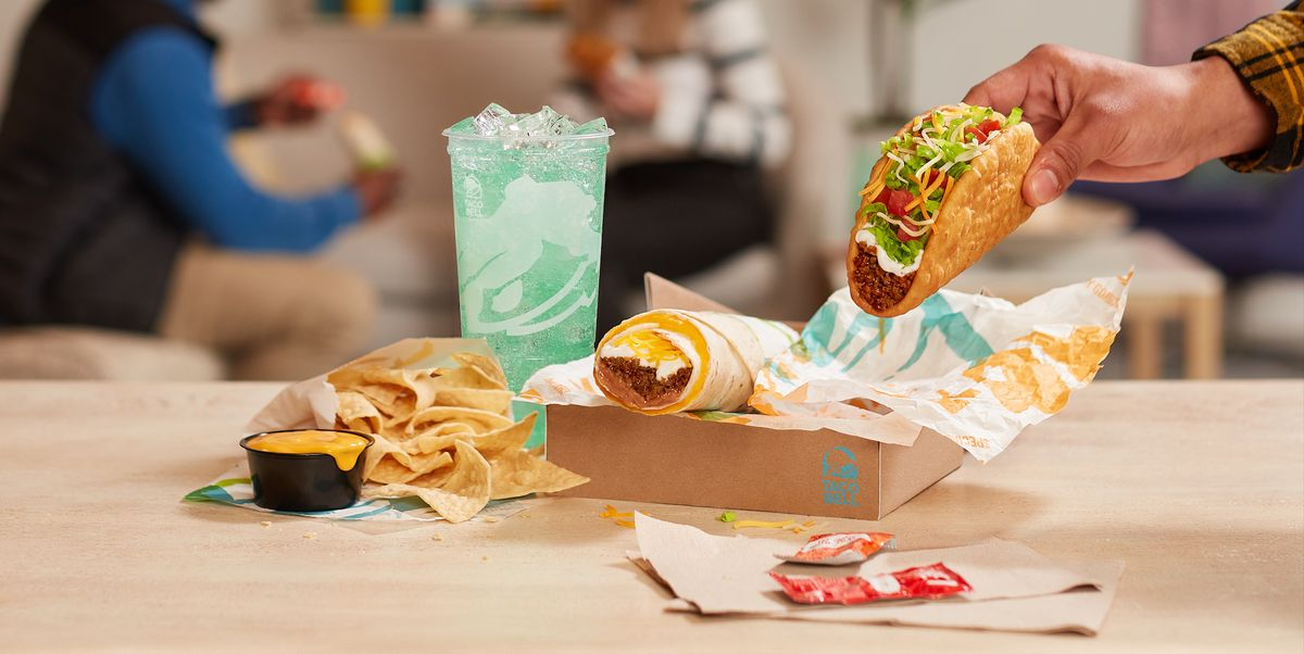 Taco Bell's Build Your Own $5 Cravings Box Are Now Available