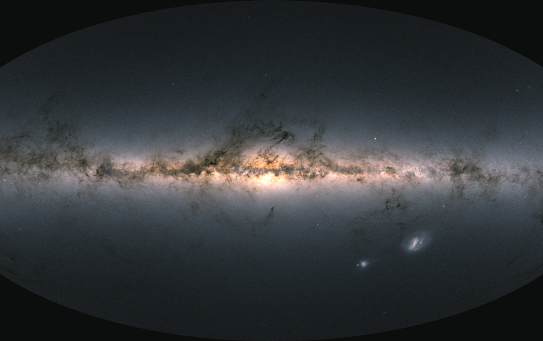 Fresh Data from Gaia Galaxy Survey Gives Best Map Ever of the Milky Way
