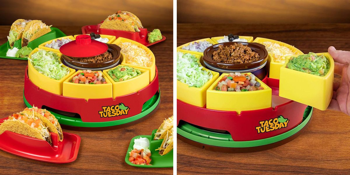 This Lazy Susan Will Make Taco Tuesday Better