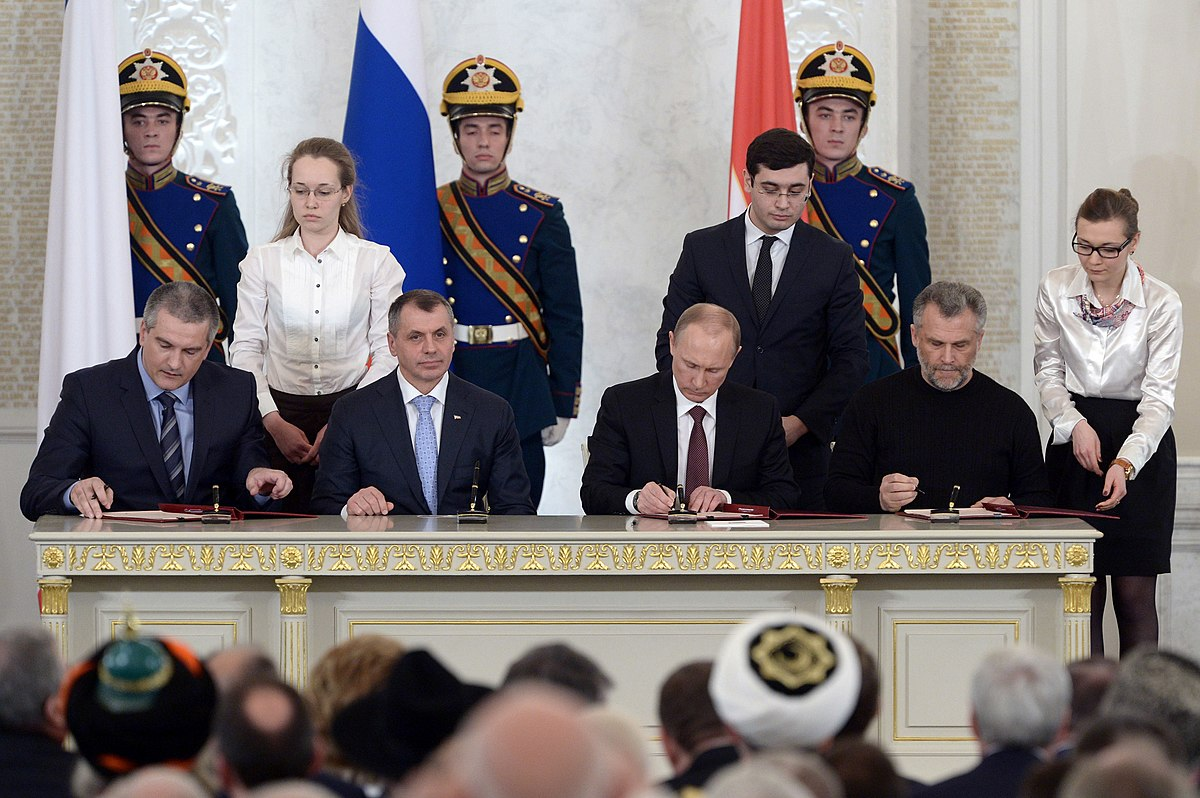 Annexation of Crimea by the Russian Federation