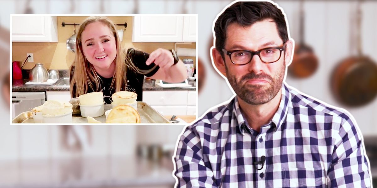 We Asked YouTuber Preppy Kitchen To Watch And Review The Worst Baking Fails