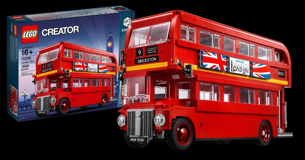 LEGO Creator Expert London Bus Just $99.95 Shipped on Amazon (Regularly $140)