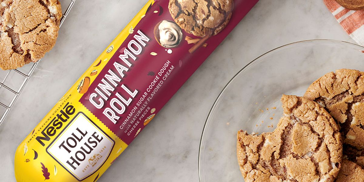 Cinnamon Roll Cookie Dough, Anyone? Nestlé Toll House Is Ready for Fall Baking