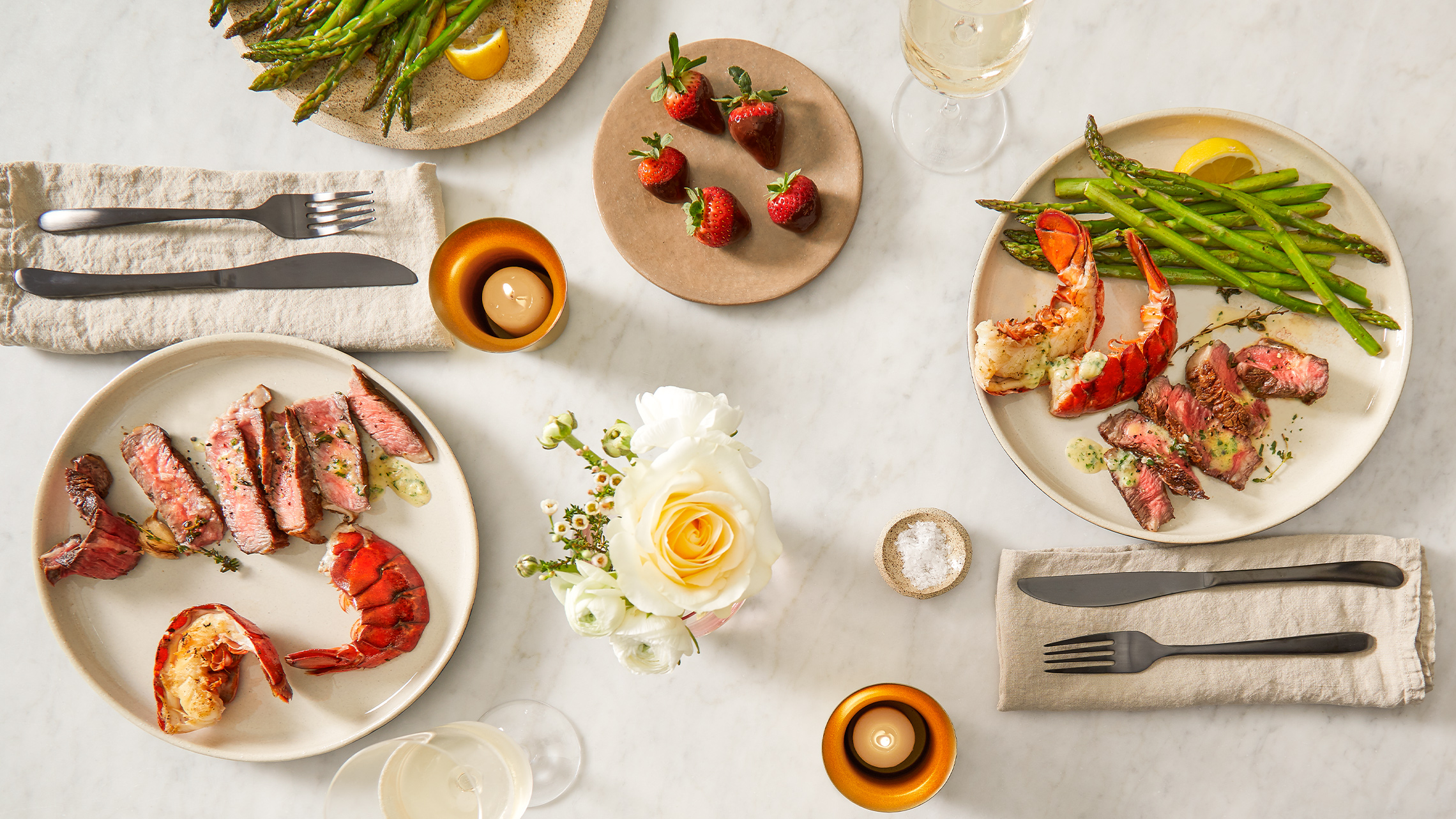 Skip the Reservations with This Ultimate Valentine's Day Dinner Spread