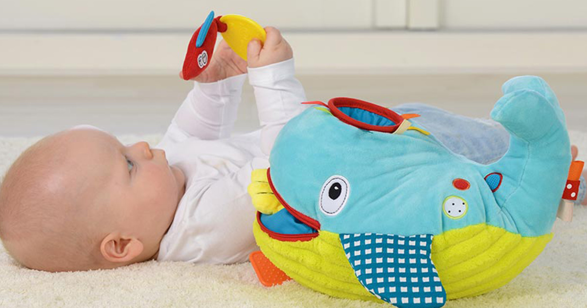 Interactive Plush Whale Baby Toy Just $9.67 on Walmart.com (Regularly $24)
