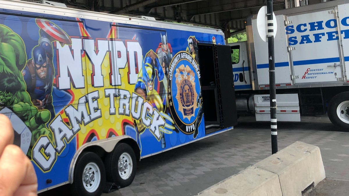 Why Cops Are Driving a 'Game Truck' Around New York City