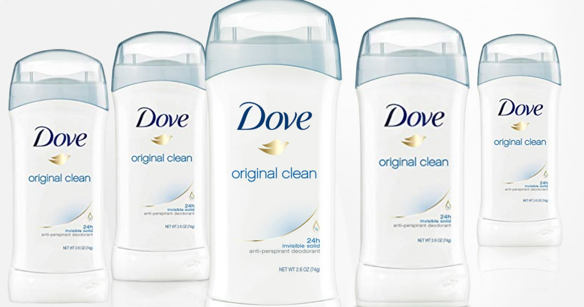 Dove Deodorant 6-Pack Only $11.54 Shipped on Amazon