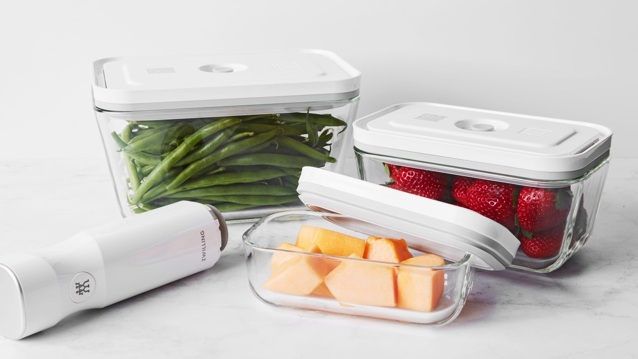Will This New Vacuum Sealing System Keep Your Produce Fresher Longer?