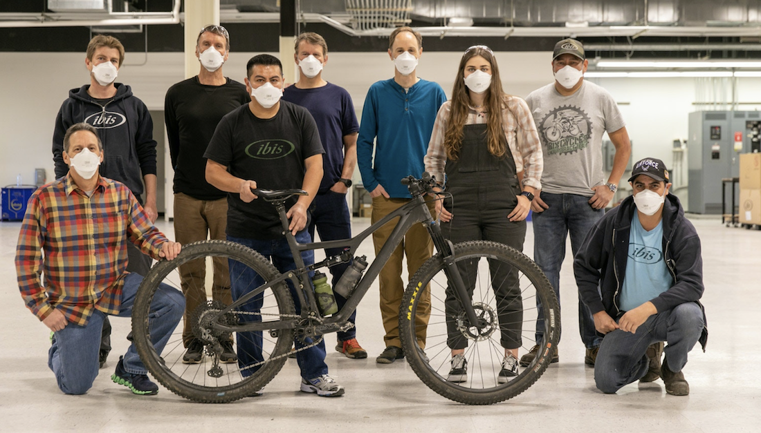 Ibis Is Making Its New Carbon XC Bike in California