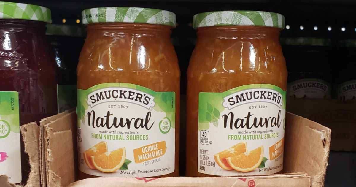 Smucker's Natural Orange Marmalade 17.25oz Jar Only $2.45 Shipped on Amazon