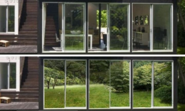 Woman tells Reddit she put in mirrored windows after neighbour leered at her