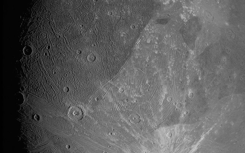 Ganymede Looks Glorious in New Images from NASA's Juno Mission