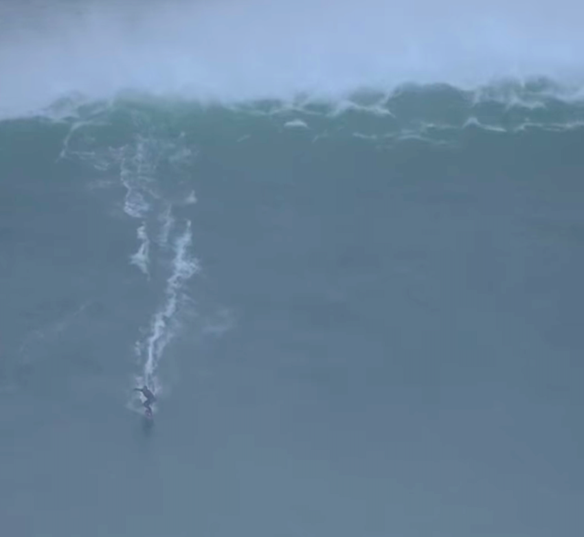 The Biggest Waves In, Oh, Forever, Maybe, Are Pounding Portugal's Coast