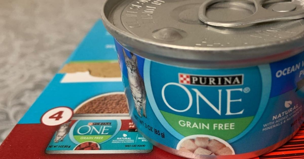 Purina ONE Grain-Free Cat Food 24-Count from $12.45 Shipped on Amazon