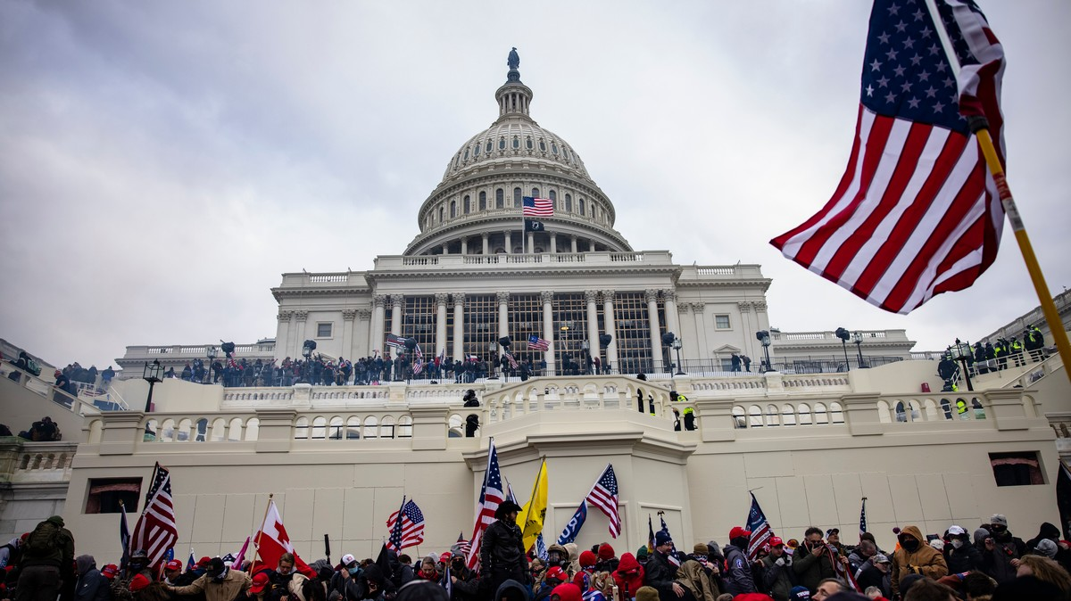 This Capitol Rioter Claimed He Was a Top FBI Agent. Here's Why He Probably Wasn't.